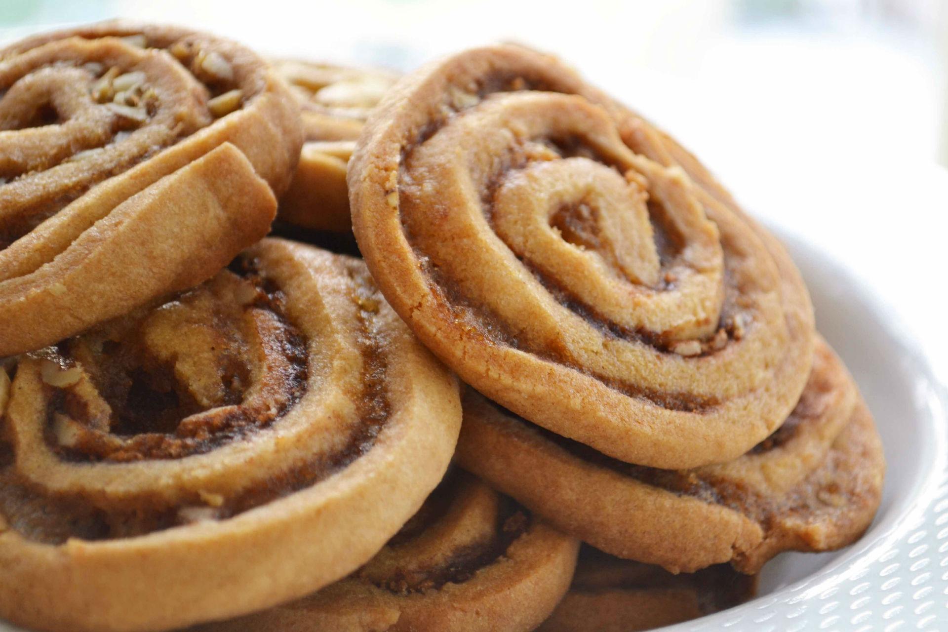 Cinnamon Bun Crunch Cookies