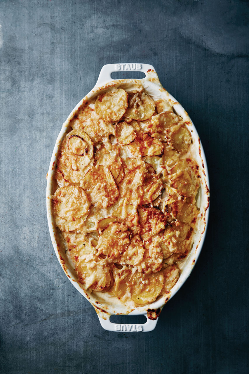 Make-Ahead Scalloped Potatoes