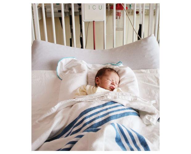 Post operation blanket warmer donation for SickKids