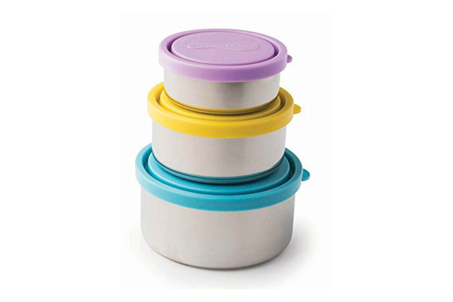 nesting metal containers with lids