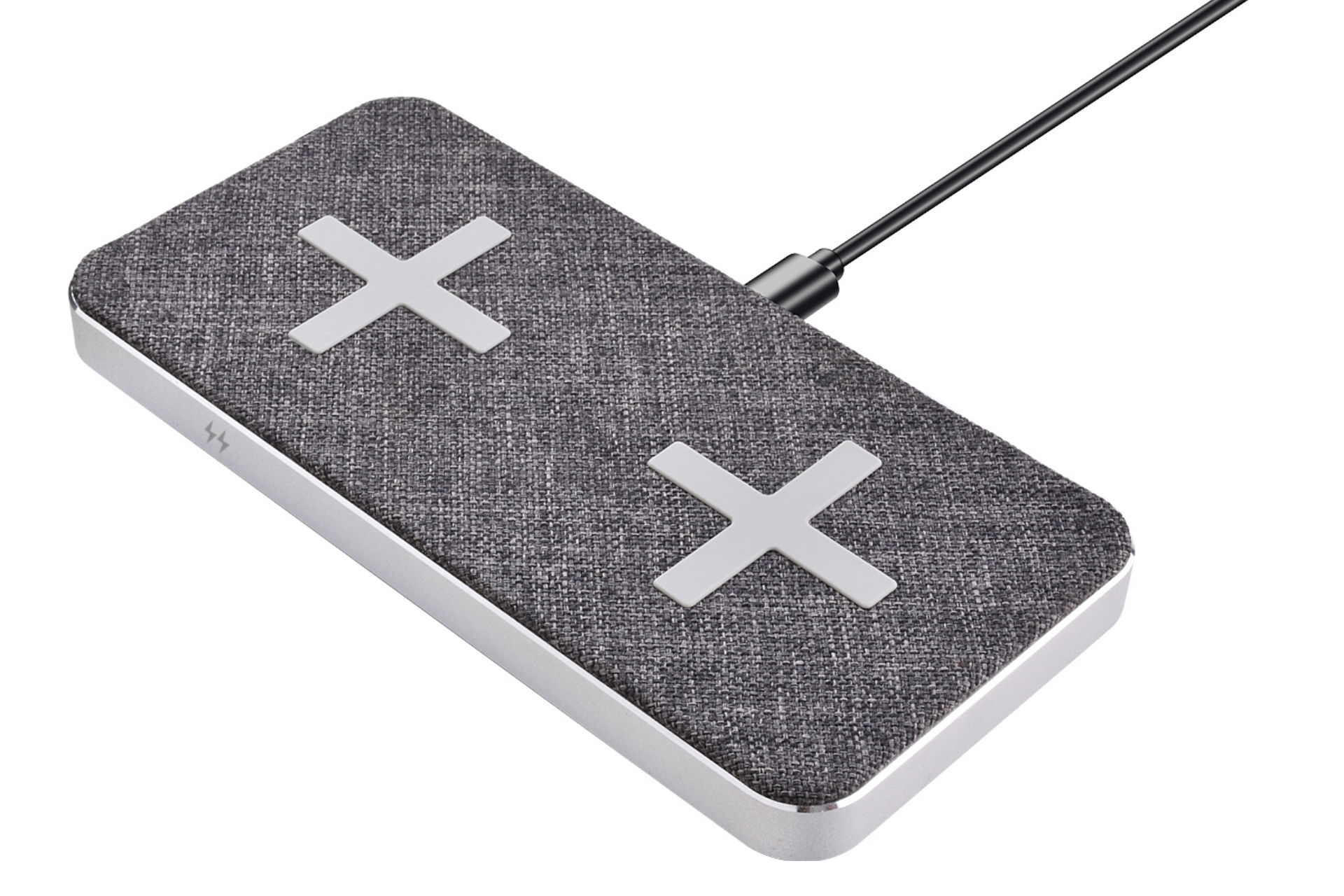 Bluehive fabric dual charging pad