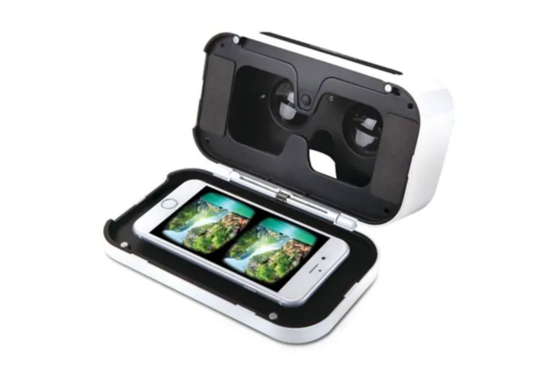 Black Series virtual reality smartphone viewer