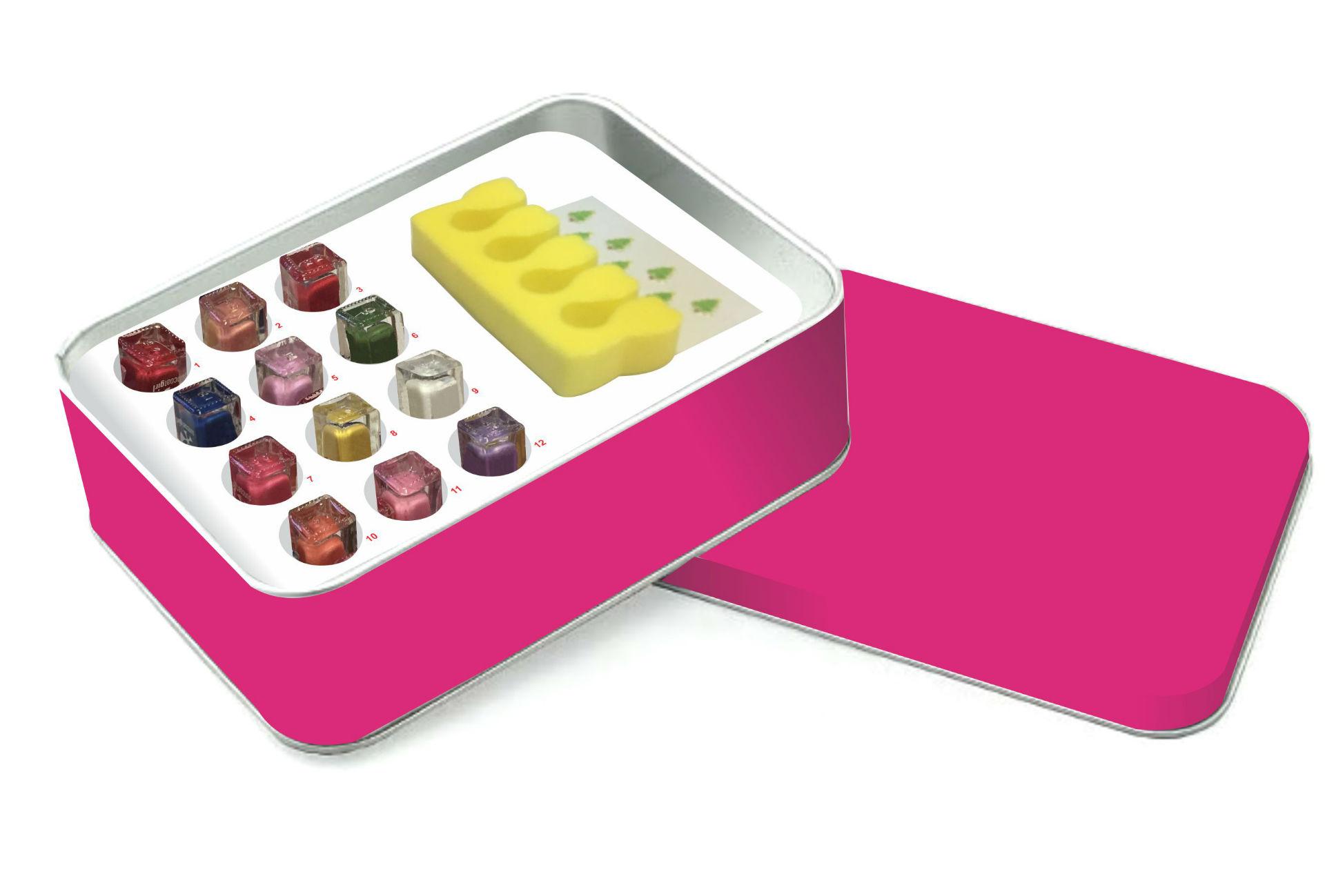 12 Days of Christmas nail kit