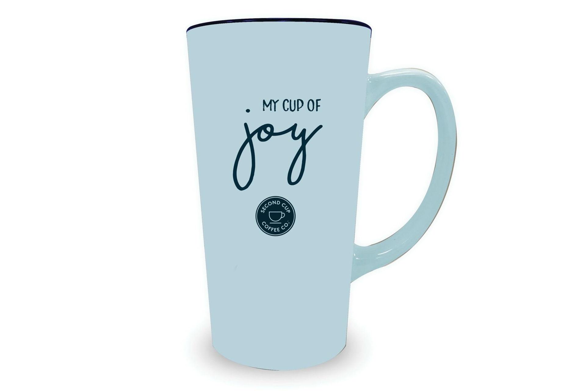 """My Cup of Joy"" holiday mug"