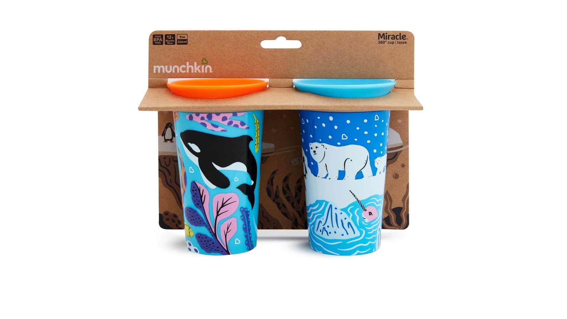 Munchkin Wild Miracle cups