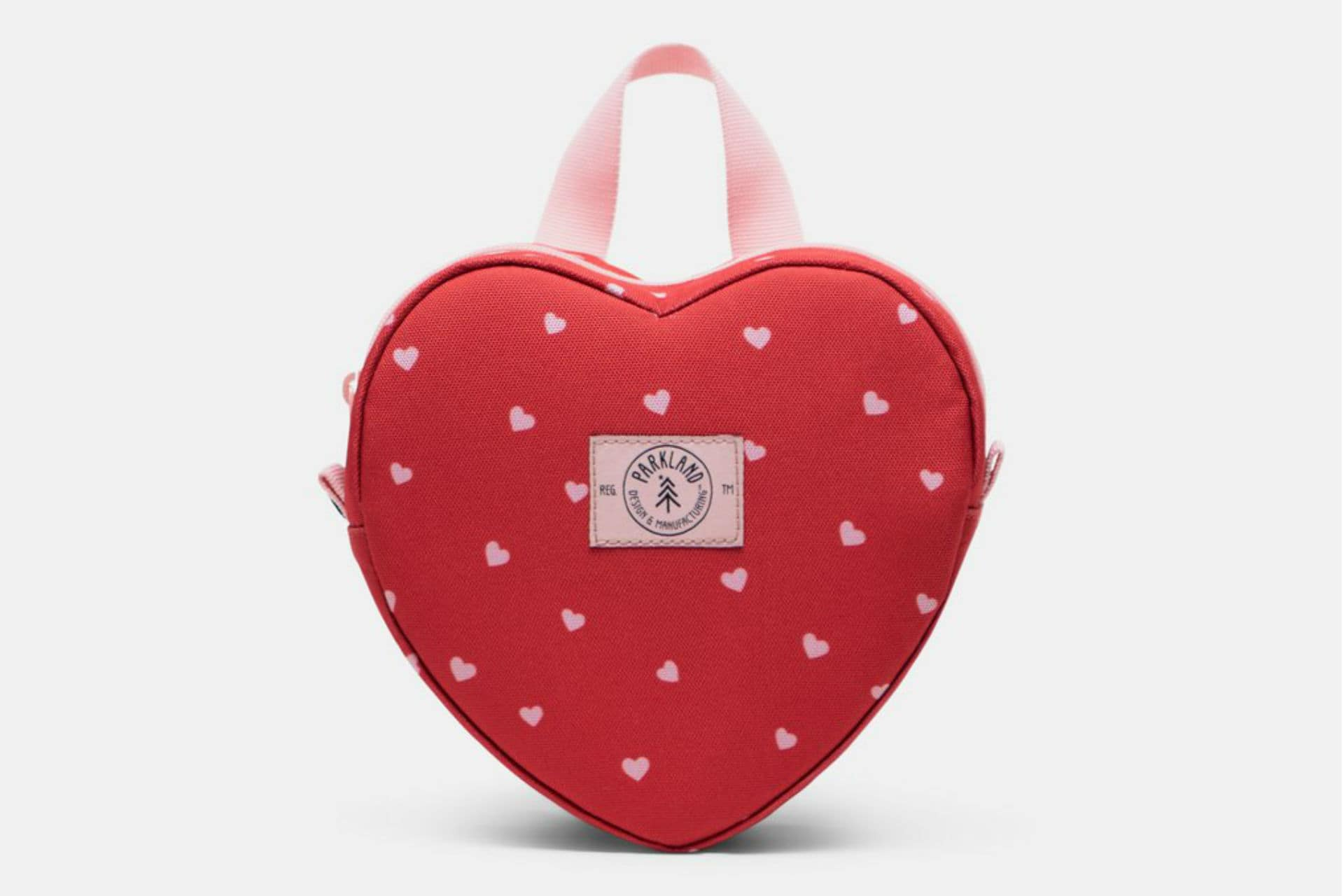 heart-shaped lunch bag
