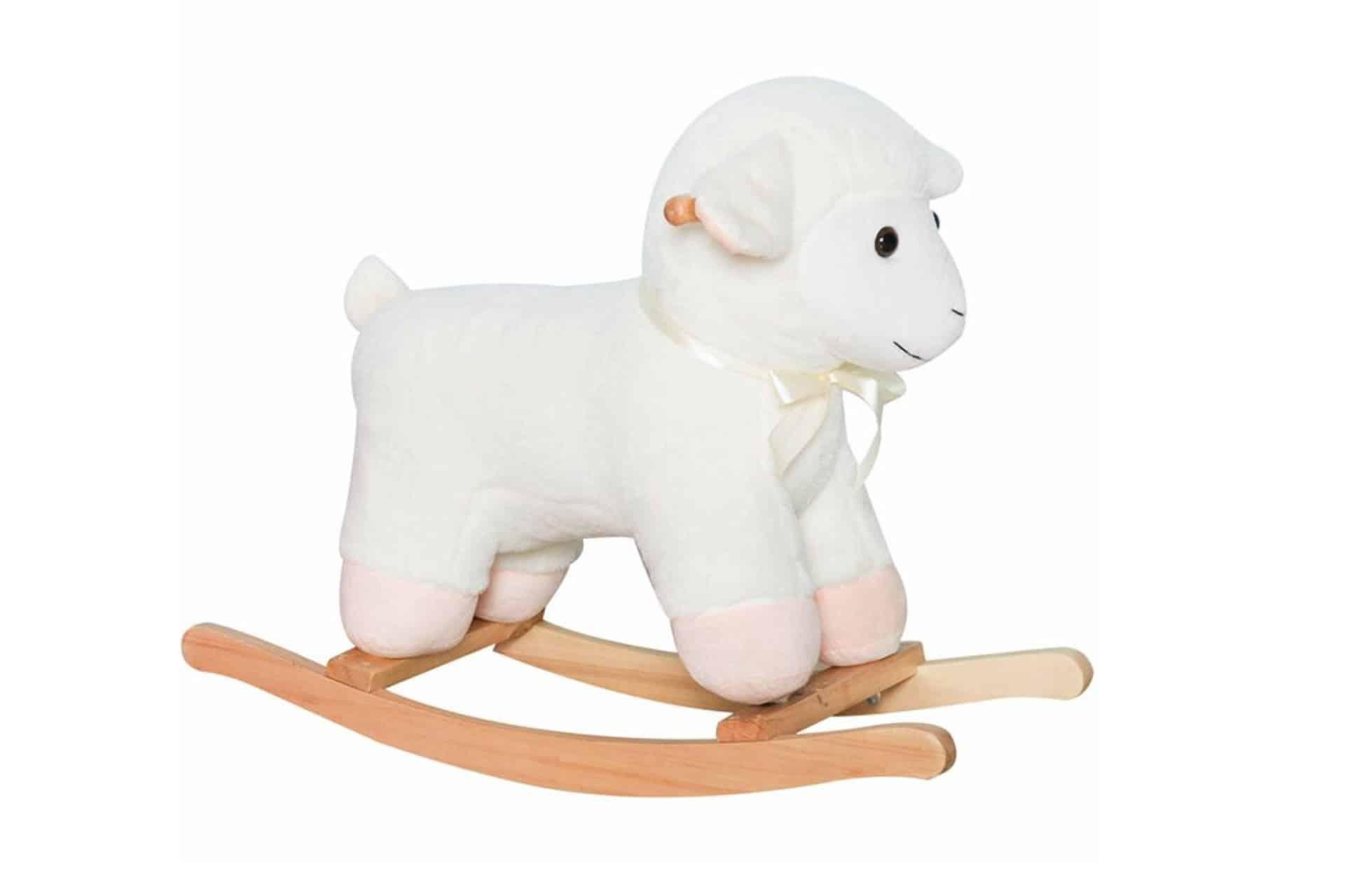 lamb rocking horse