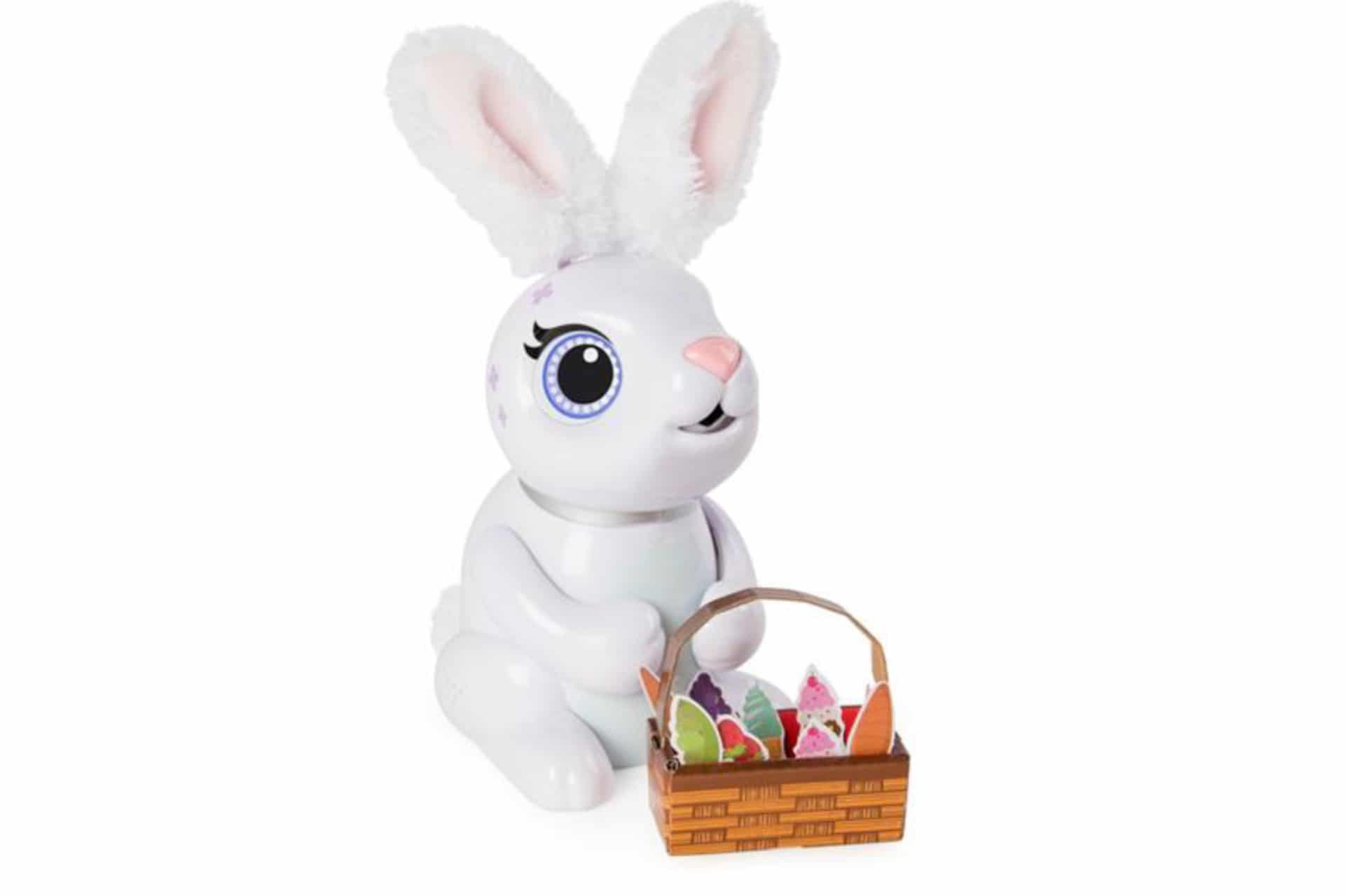 Zoomer Hungry Bunny with a basket