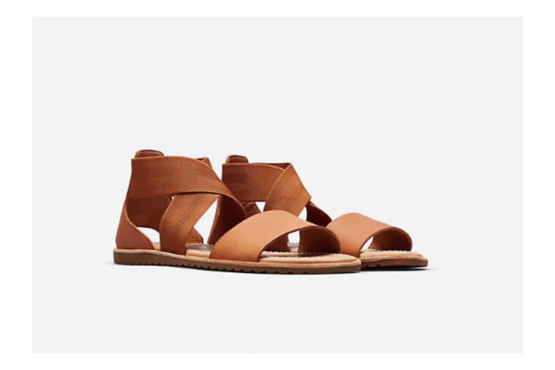 brown strapy sandal