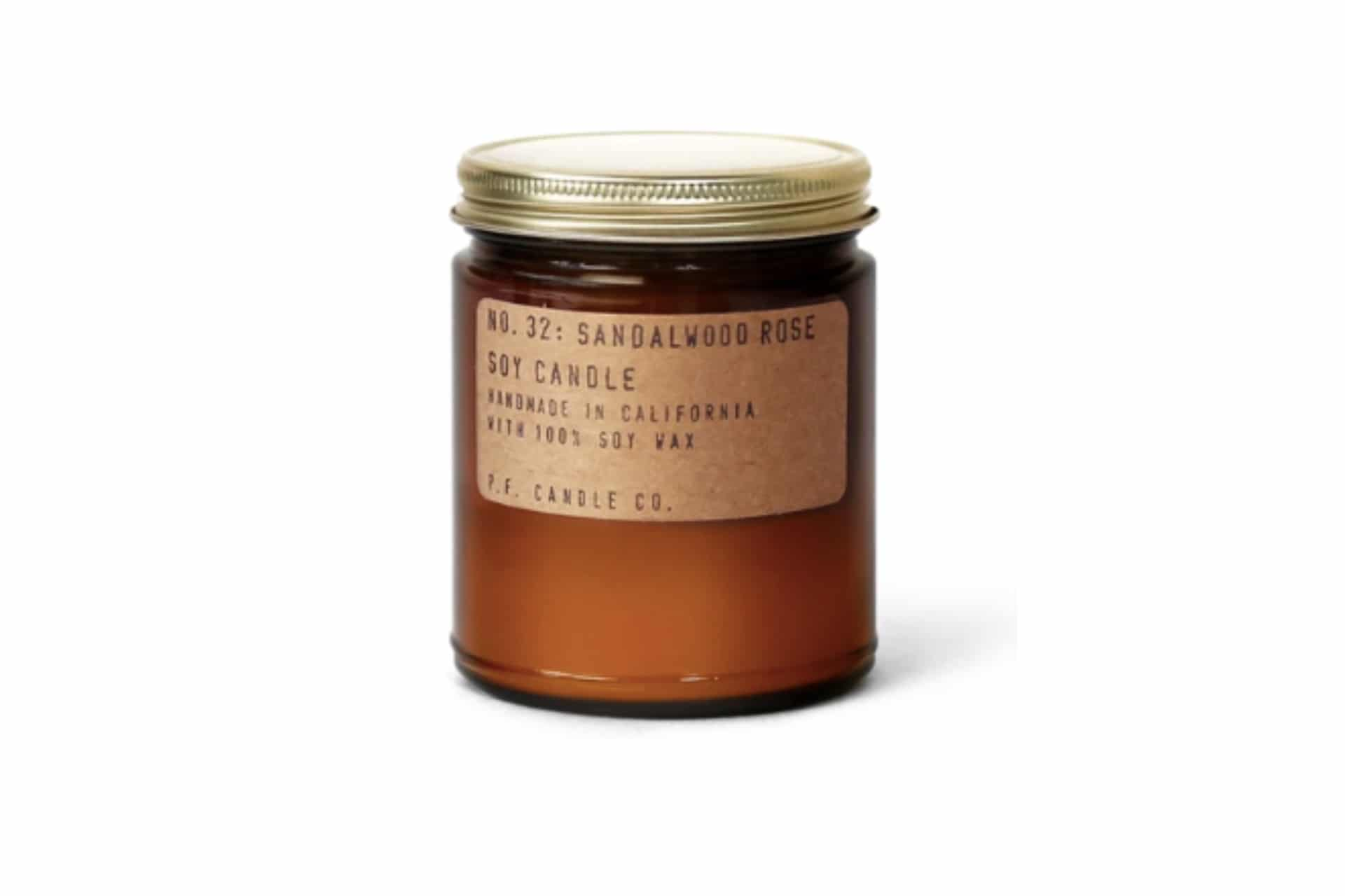 Soy Candle | No. 32: Sandalwood Rose