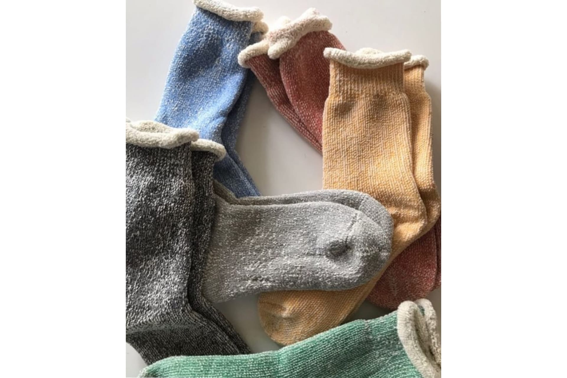 French Terry Socks