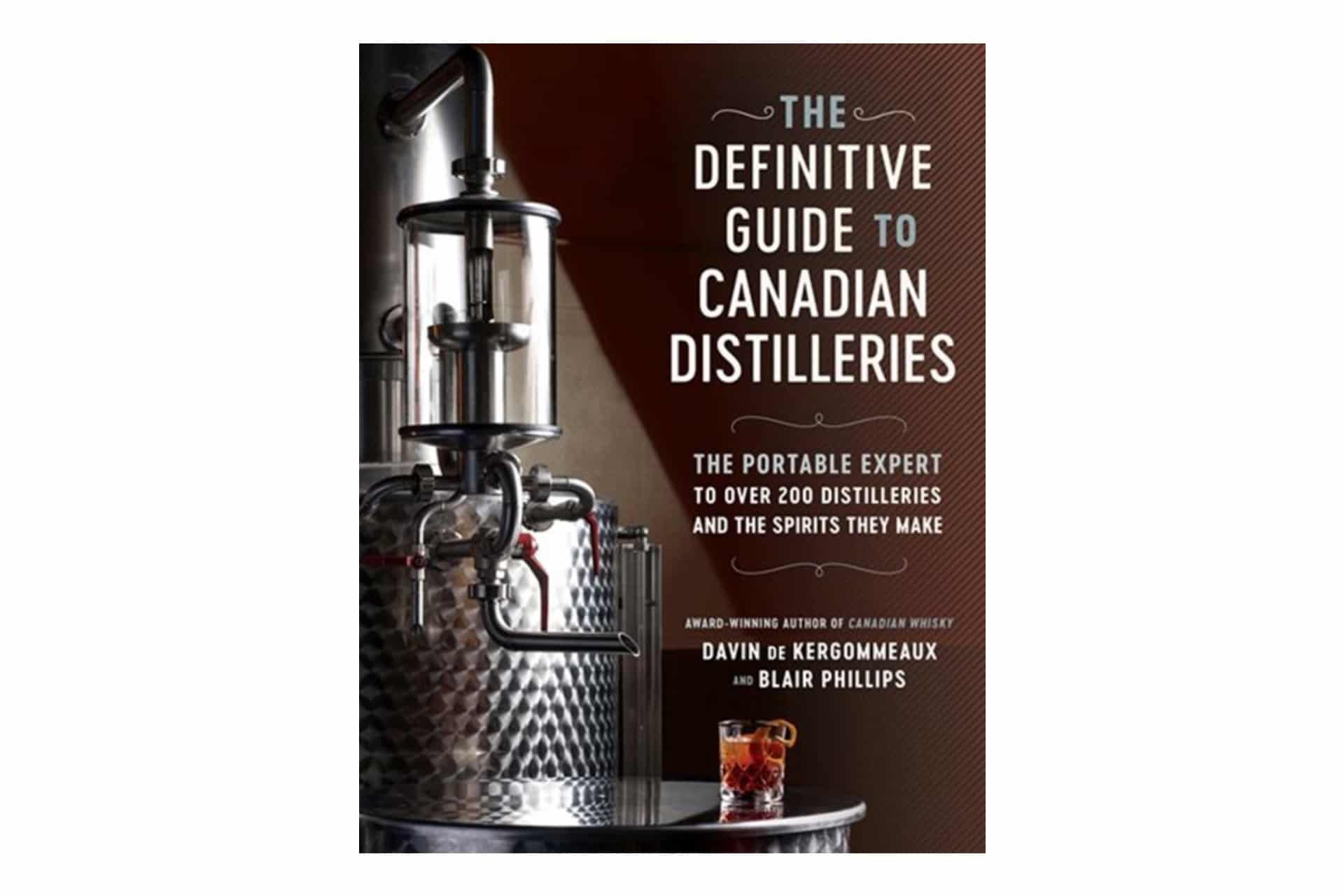 book cover about canadian distilleries