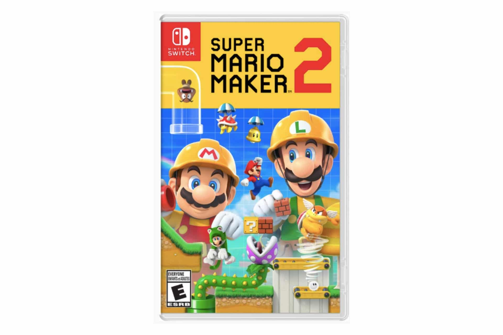 Super Mario Maker 2 game cover