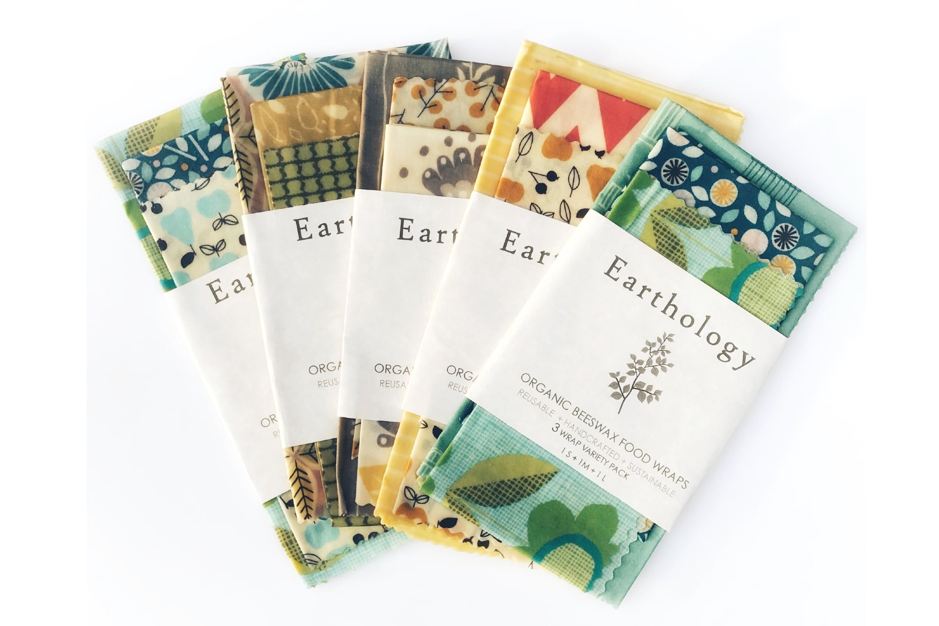 Earthology Beeswax Food Wraps