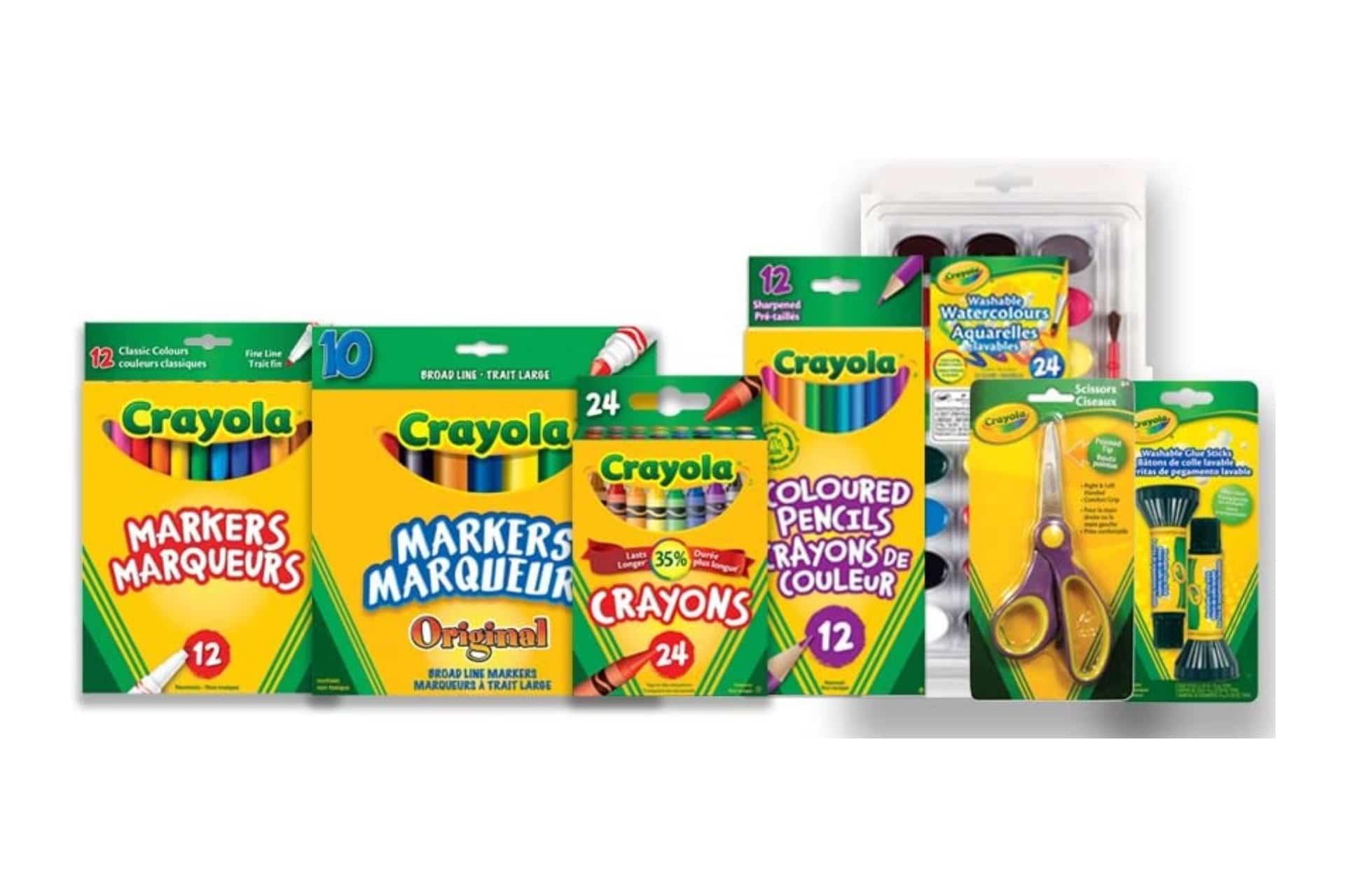 Crayola Back to School Bundle Set