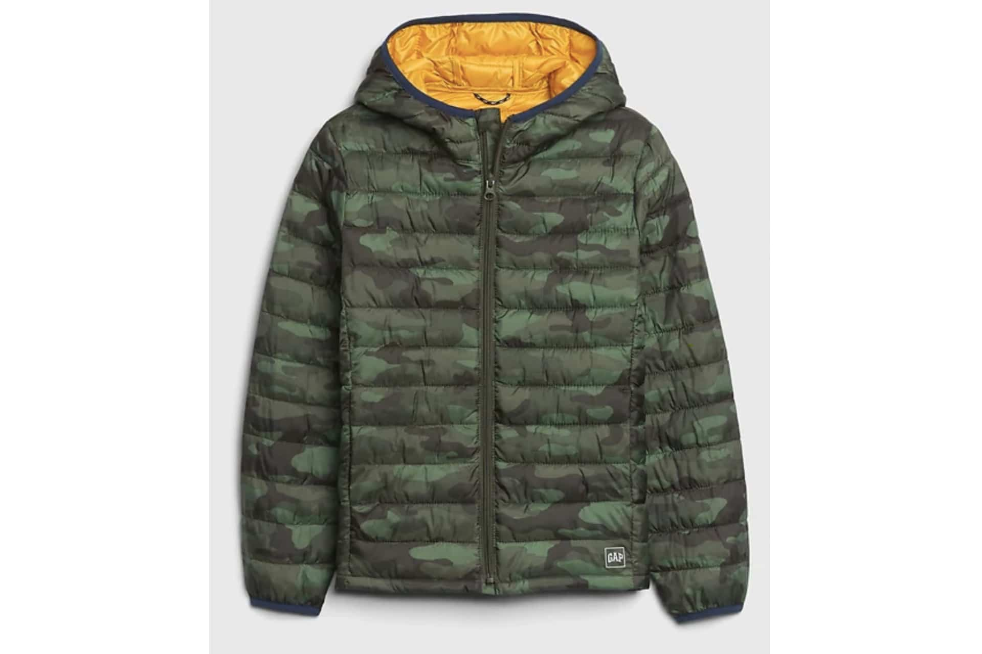 Kids Upcycled Lightweight Puffer Jacket