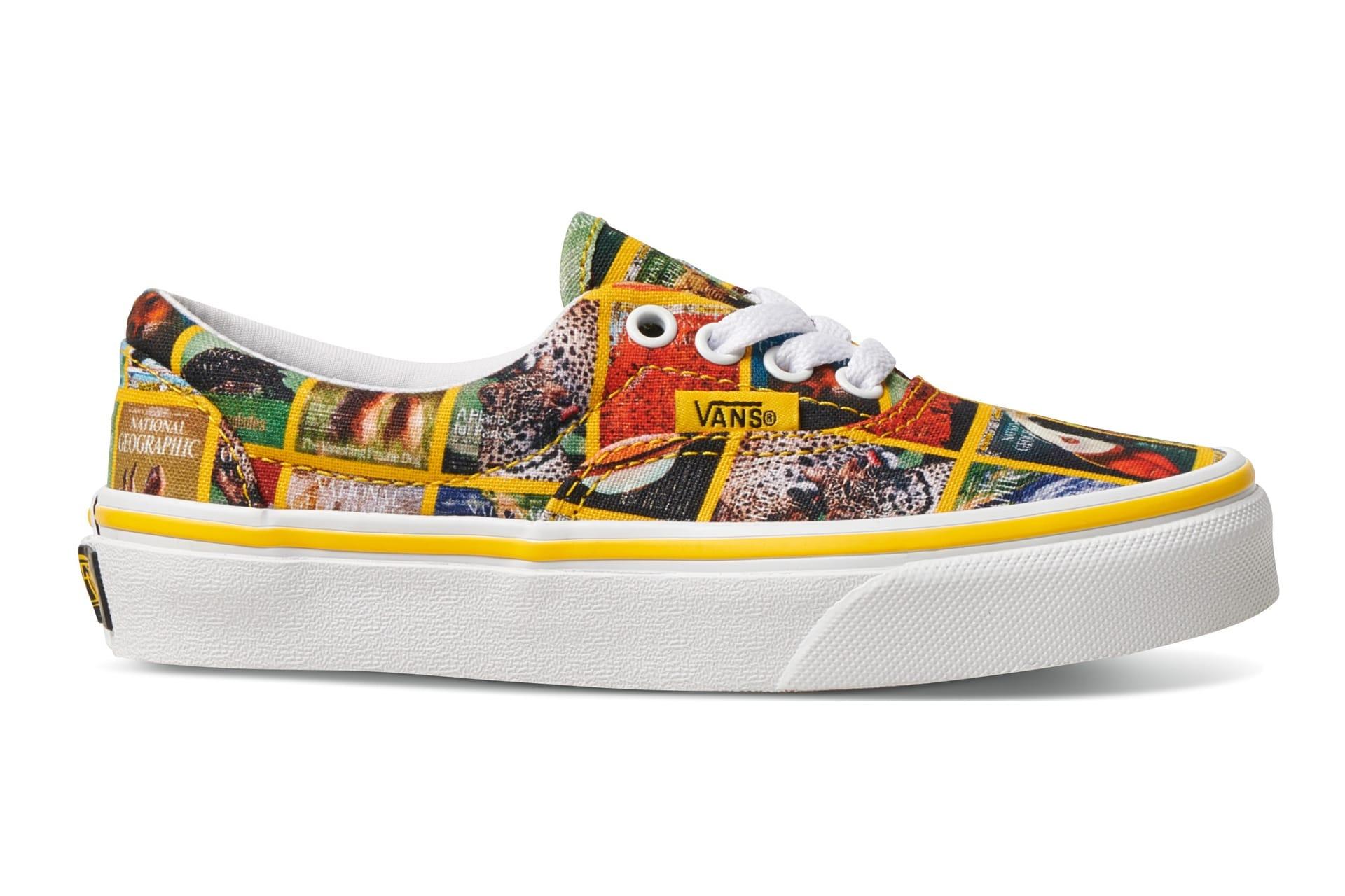 NatGeo-patterned Vans sneakers