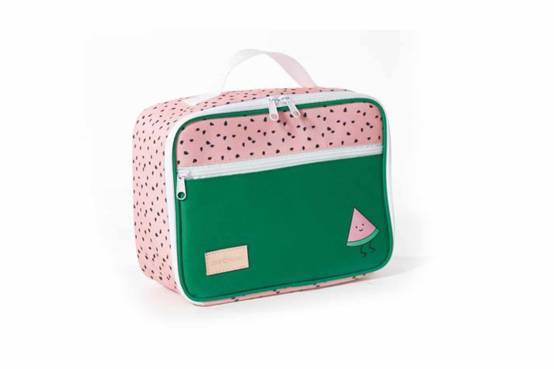 lunch box with a watermelon print