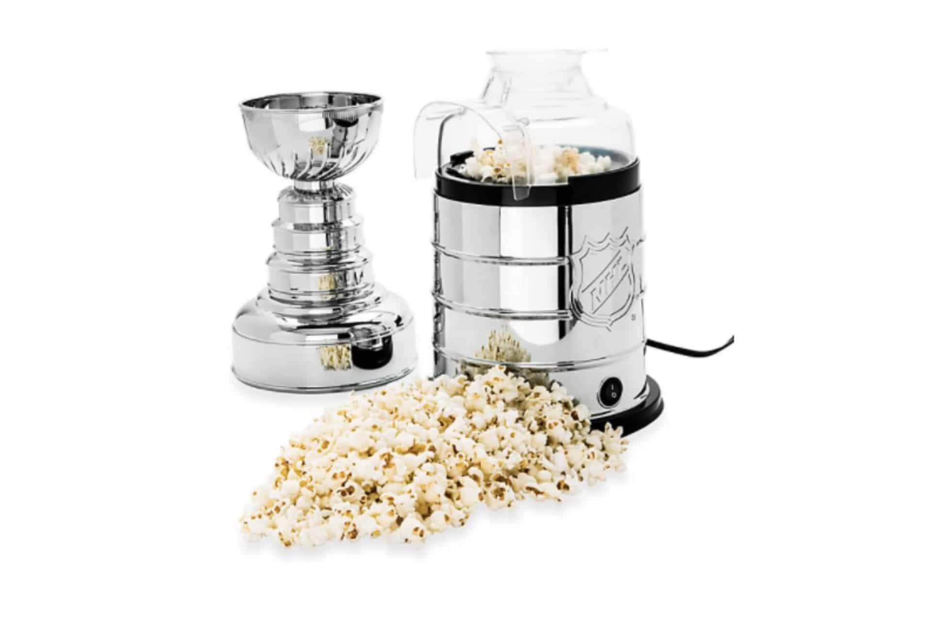 Stanley cup-shaped popcorn maker