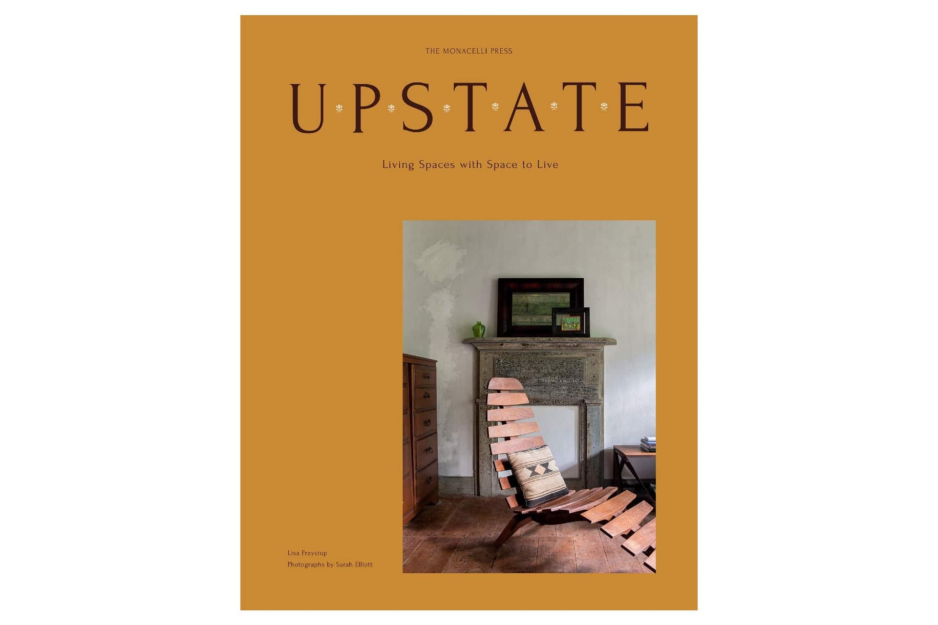 Cover of a coffee table book called Upstate