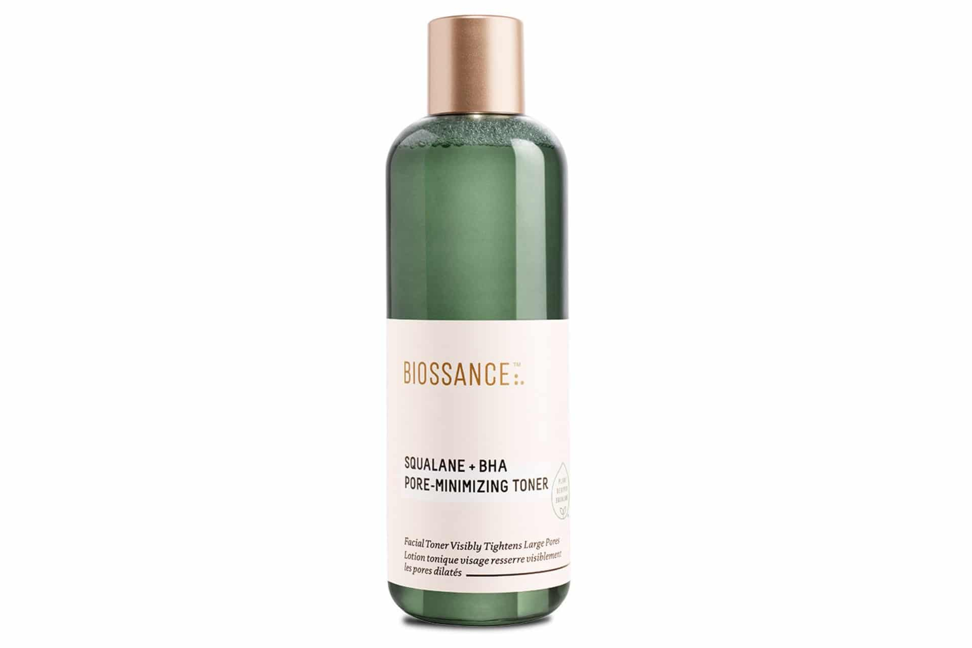 green bottle of toner